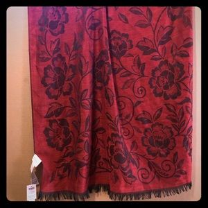 Chico's Scarf, Floral Print